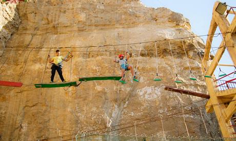 zipline activities in Cairo