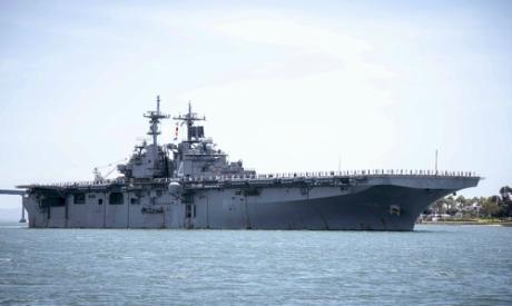Ship USS Boxer (LHD 4)