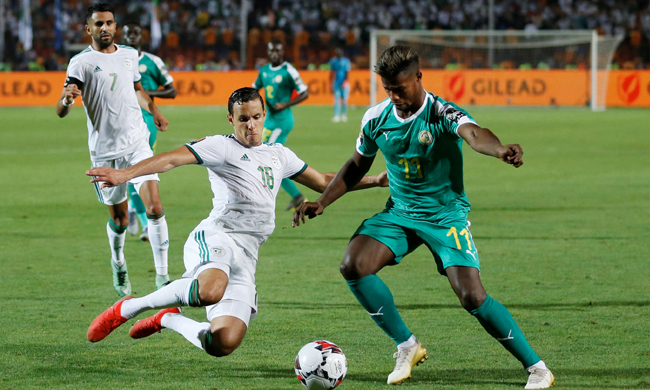Algeria v Senegal