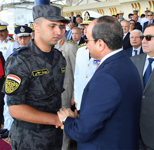 Sisi in Police Academy