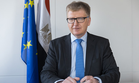 Head of European Union Delegation in Egypt Ambassador Ivan Surkoš (Photo: https://eeas.europa.eu/del
