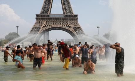Trocadero fountains, Paris