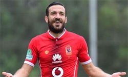 Ahly full back Ali Maaloul