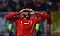 Ahly winger Hussein El-Shahat