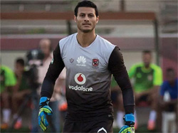 Ahly goalkeeper Mohamed El-Shennawi