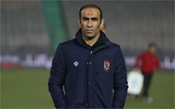 Ahly football director Sayed Abdel-Hafiz