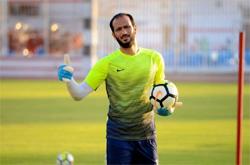Zamalek goalkeeper Emad El-Sayed