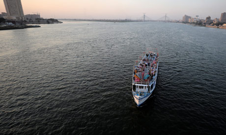 A boat transports people along the river Nile in Cairo, Egypt July 2, 2019. (Reuters)