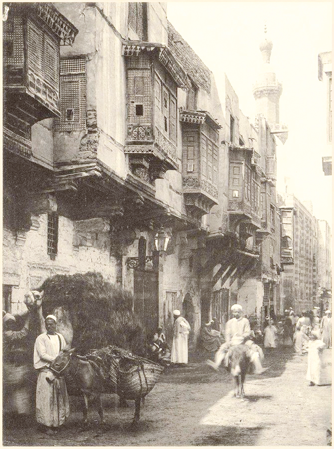 A Cairo street in 1875