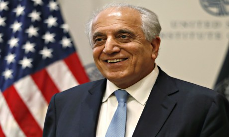 U.S. envoy for peace in Afghanistan Zalmay Khalilzad (Photo: AP)