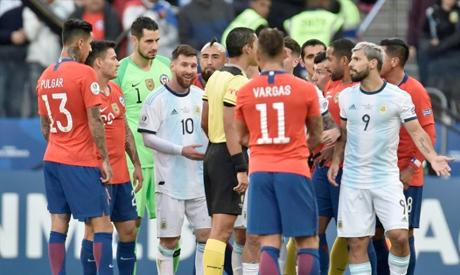 Argentina v Chile