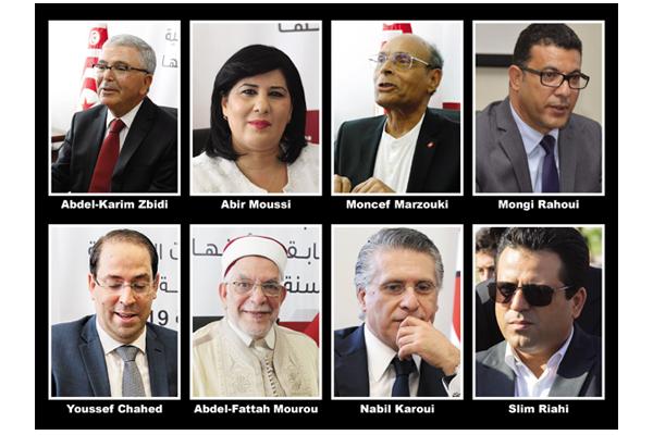 Tunisia's election contenders
