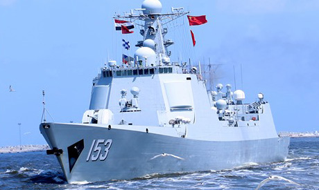 Egyptian, Chinese naval forces (Photo: facebook.com/EgyArmySpox/)
