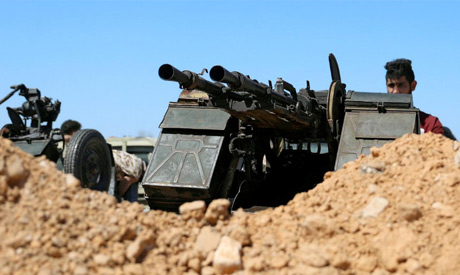 File photo: A member of Misrata forces, under the protection of Tripoli