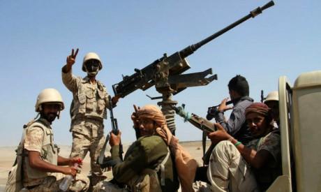 Yemeni army troops