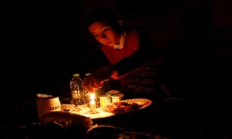 Blackout in Tripoli