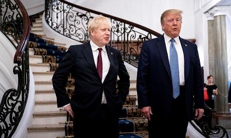 Johnson, Trump