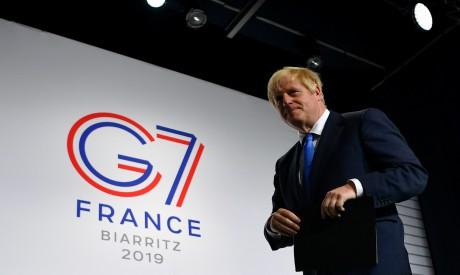 Boris Johnson G7