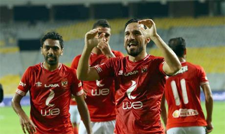 ِAhly Players Celebrating