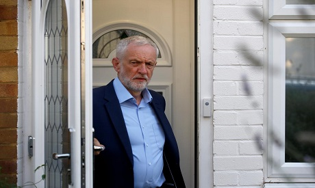 UK opposition leader Corbyn to try on Tuesday to stop parliament shutdown