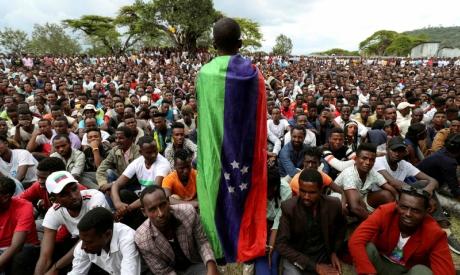 Sidama youth leader, Ethiopia