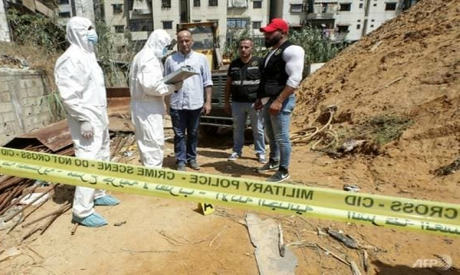 Forensic investigators of Lebanon