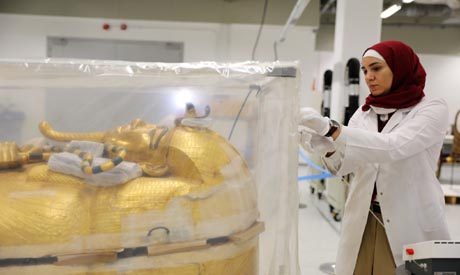 Restoration of King Tut