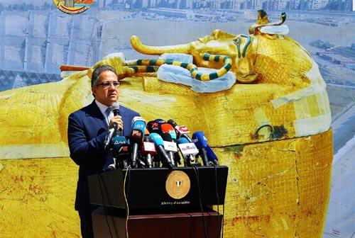 Minister Khaled El-Enany