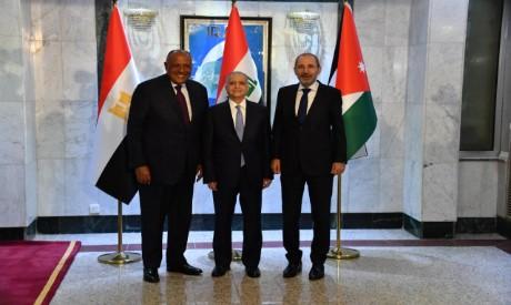 Egypt FM, Jordan FM, Iraq FM