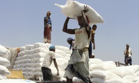 WFP aid in Yemen