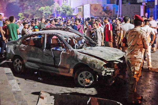 Terror hits Cairo