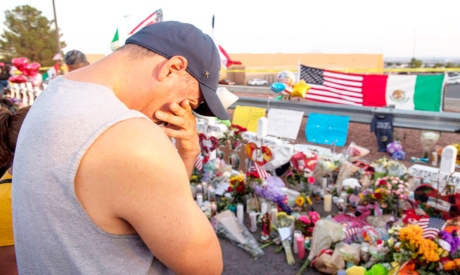 Trump criticised after US shootings