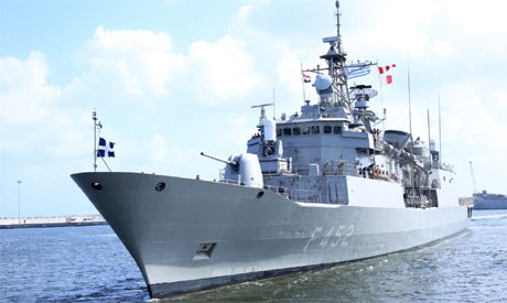 Egyptian-Greek joint naval exercises