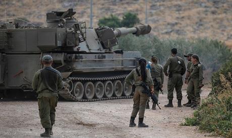 Israeli occupation force