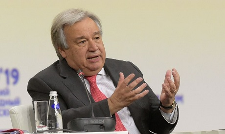 UN chief vows continued support for DR Congo army