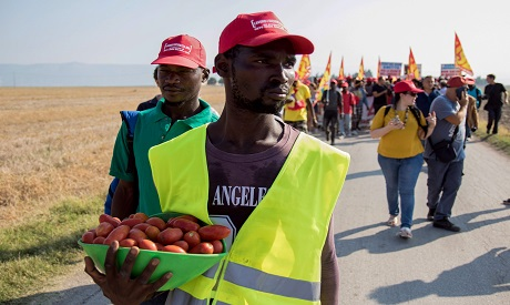 Migrants Protests in Italy