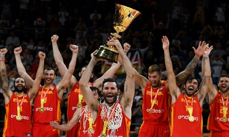 Spain basketball national team