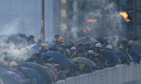 Hong Kong protests 15 September 2019