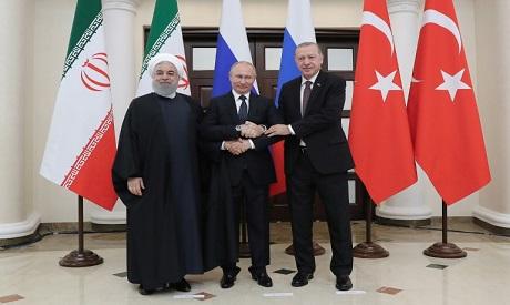 Erdogan, Putin and Rouhani