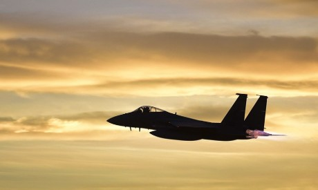 East Libyan forces carry out air strike. File Photo: AFP