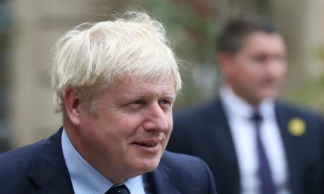Boris Johnson visits Luxembourg