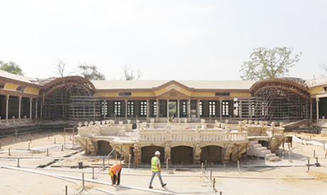 Restoring Egypt's Versailles