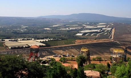 Lebanon conflict area