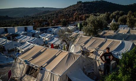 Migrant In Greek island