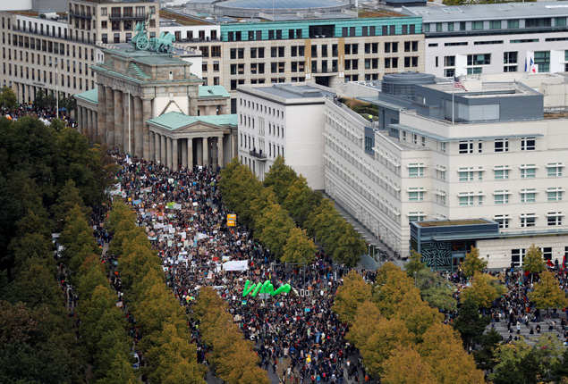 PHOTO GALLERY:  Thousands demonstrate around the world for climate change  before UN Climate Action Summit