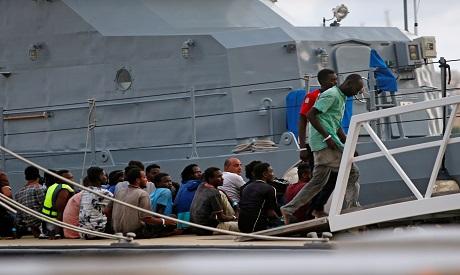 Migrants in Malta
