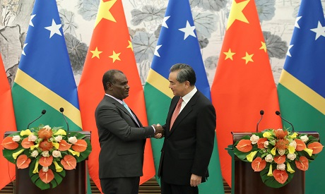 China and Solomon Island