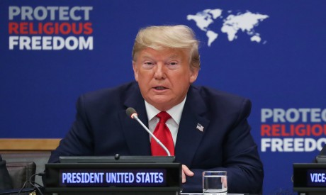 President Trump at the United Nations in New York