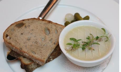 Foie gras from chicken liver