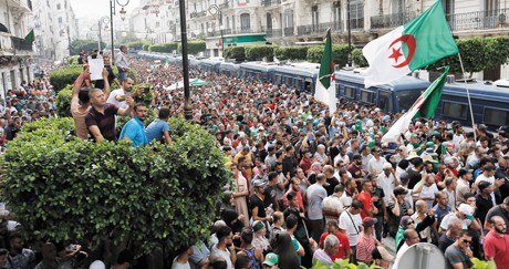 Paralysing polarisation in Algeria